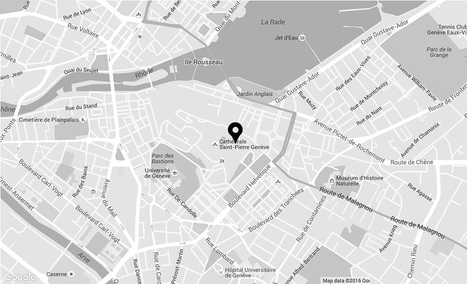M.A.D.Gallery Geneva - map